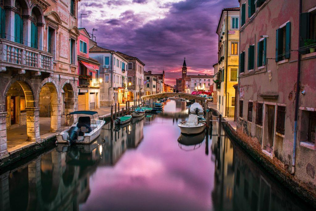 Italie venise couple romantique